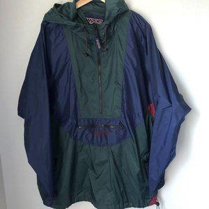 Men's Jansport 1/2 Zip Pullover Windbreaker w/Hood